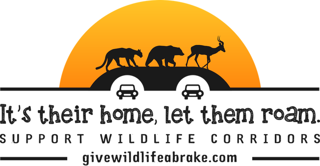 It's Their Home Let Them Roam Wildlife Corridors Logo